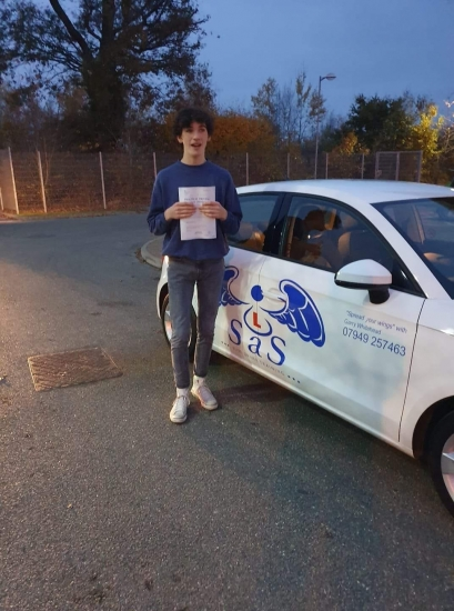 Passed 21/11/19<br /> Instructor Garry Whitehead