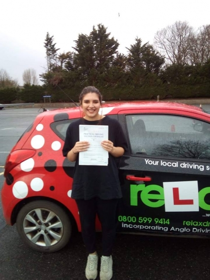 Passed 1st time 14/01/2019<br />