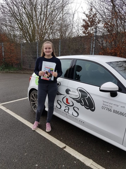 From Sheringham<br /> Passed 18/01/2019<br /> Instructor Sharon Cox