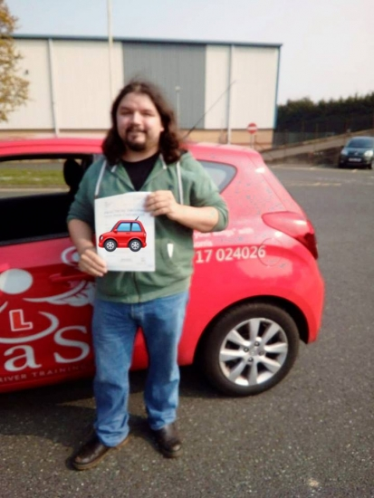 Passed 17/04/2019<br /> Instructor Brian Norris