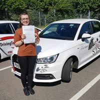 From Cromer Passed her test on 14th June 2017<br /> Instructor Sharon Cox