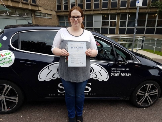 From East Runton<br /> Passed her test with 0 faults on<br /> 080817<br /> Instructor Sarah Bradley