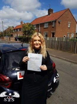 Passed 1st Time 4 Minor Faults<br /> Instructor Sara Bradley<br /> 17/05/2018