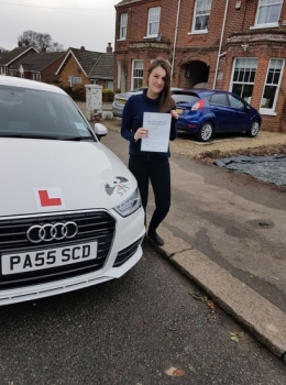 From Cromer!<br /> Passed 10/03/2018<br /> Instructor Sharon Cox