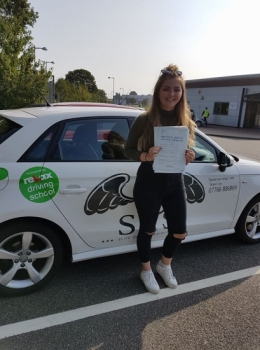 From Overstrand<br /> Passed 1st time 7th September 2017<br /> 3 Faults<br /> Instructor Sharon Cox