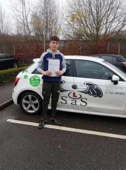 Passed 20/12/2017<br /> 3 Minor Faults<br /> Instructor Sharon Cox