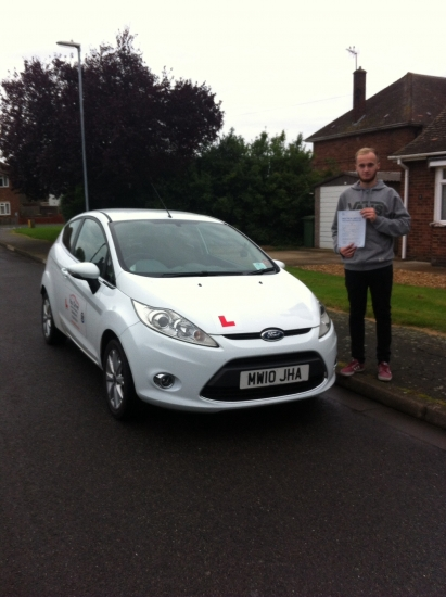 Well done to Harry from March who passed his test on 20th October