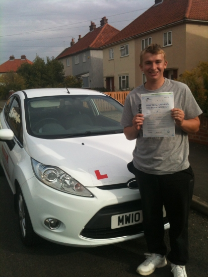 Congratulations To Josh From Chatteris Who Passed His Test On The 8th October
