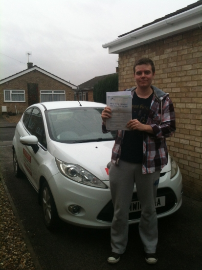 Congratulations To Paul From March  Who Passed His Driving Test  On  The 12th November.