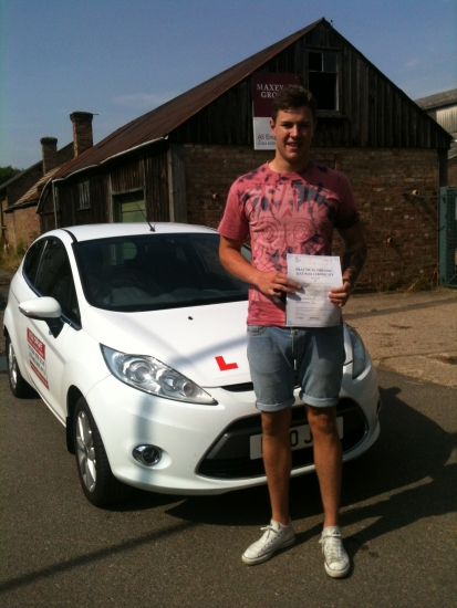 Congratulations To Jack From March Who Passed His Driving Test On The 23rd July