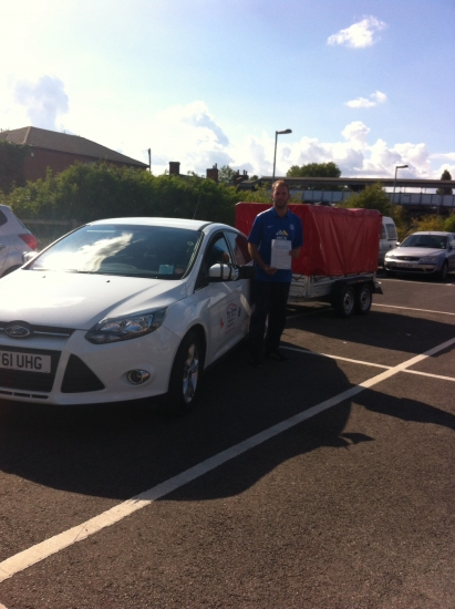 Congratulations to Josh from March who passed his trailer test 20915