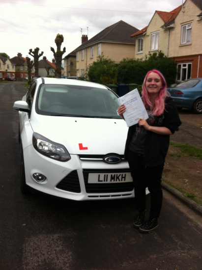 Great result for Vicky from March who passed her test on the 25th May