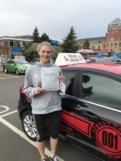"""""""I have loved learning to drive with Steven, my lessons were always productive and professional yet there were still lots of fun and laughter."""""""