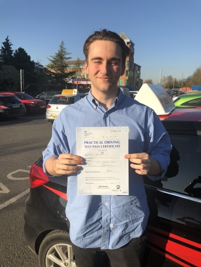 Congratulations to Sam Kelly who past his test today. Well done. <br />