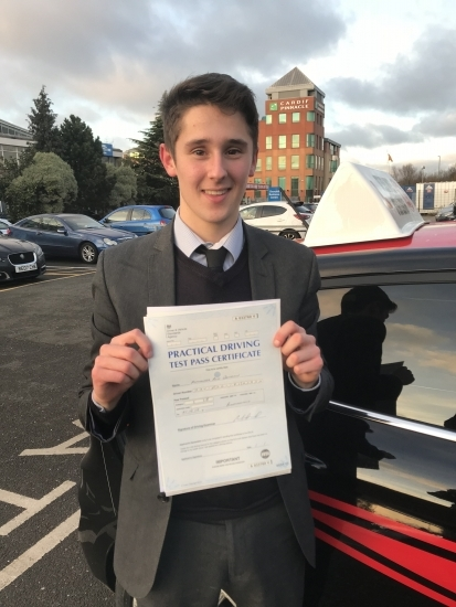 """""""Steven was professional and helpful, providing an excellent service. His knowledge made each driving lesson very informative and ensured I was able to pass both quickly and safety. I would highly recommend Steven to anyone taking up driving lessons. He is an amazing instructor who always makes sure you get the best result'"""