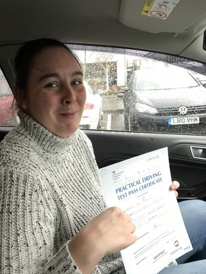 I was a complete novice at driving and was very nervous Steven put me at ease straight away he soon had me driving He built my confidence up he is a fantastic instructor and I would recommend him to anyone wanting to learn to drive