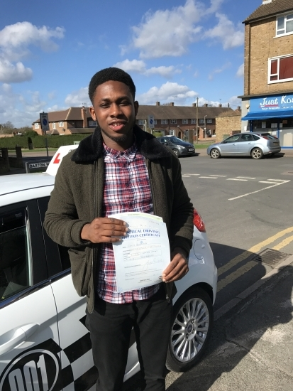 I Caleb hereby state my experience with Steve Davis as my driving instructor during my lessons and test<br /> <br /> <br /> <br /> I can confirm that Mr Davis was very professional in all his interactions during the period and this include the following:<br /> <br /> <br /> <br /> ·  He was very gentle in giving instructions<br /> <br /> <br /> <br /> ·  Motivating and encouraging<br /> <br /> <br /> <br /> ·  Calm in giving corrections of my mistak