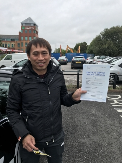 Thank you Steven for helping me pass first time Great instructor he was always very patient and professional I highly recommend Steven Davies NarongSak B