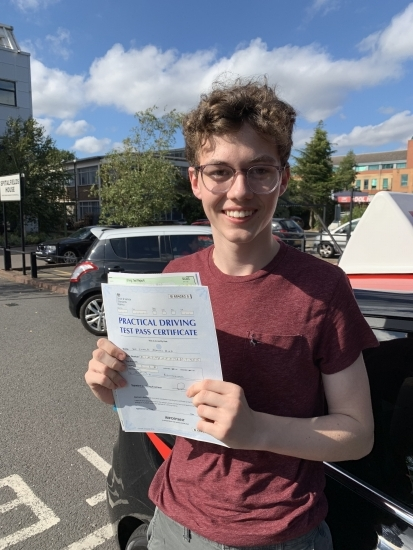 I would highly recommend Steven as he is an exceptional driving instructor and his expert knowledge and guidance helped me pass first time. His lessons were always a lot of fun too!