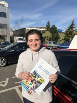 'I want to thank Steven for being the driving force in helping me pass first time. I can see exactly how my brothers passed first time with Steven too. A fantastic driving instructor. Thank you Steven.'