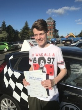 """""""Steven Davies was instrumental in helping me to pass my driving test first time. His patience and experience were a winning combination and I cannot recommend him highly enough."""""""
