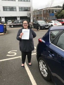 Congratulations to Lisa Camilleri who passed her test today first time. Well done Lisa.