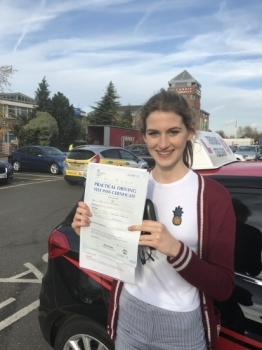 Steven has been a great driving instructor. Not only did he prepare me well for my test but also made my lessons very enjoyable and was always up for a laugh aswell! Thank you so much Steven, I thoroughly recommend you!