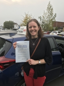 Thank you for your patience and expert tutorage. Being able to drive will massively impact me and my family and if we end up moving somewhere rural in the future (which is a very real possibility) it will be life changing.   Bless you. Bev. 😀