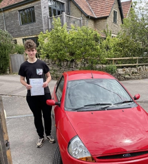 """Well done to Archie Watts who passed his test 1st attempt today using his own car, and with only the three driving faults. Congratulations from you instructor """"Philip"""" and everyone at StreetDrive - Passed Tuesday 25th May 2021."""