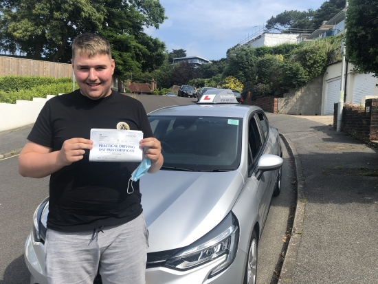 Congratulations Ben on passing your driving test first time today. Keep safe mate and enjoy your driving! 👋 🎉Passed Wednesday 30th June 2021.