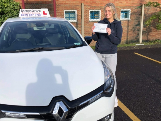 Congratulations Emilie on passing your driving test today at the first attempt!  Enjoy the freedom & stay safe! 👋 🎊🎉 passed Thursday 24th September 2020