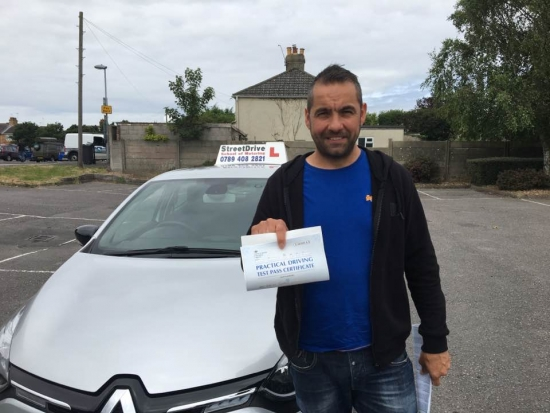 What can I say Look no further Price spot on fantastic service made you feel like you know each other for years Thanks Shaun highly recommend<br /> <br /> <br /> <br /> Well done from your instructor Shaun and ALL of us at StreetDrive School of Motoring may we wish you many years of safe driving - Passed Tuesday 4th July 2017