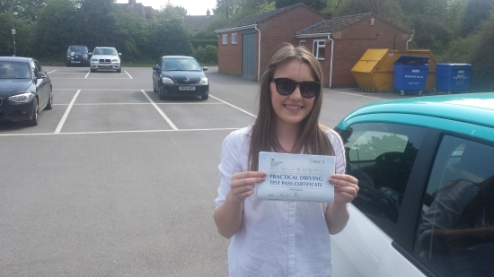 Roger is a lovely driving instructor really enjoyed my lessons<br /> <br /> <br /> <br /> I managed to pass within 6 months delighted with the overall service received : - Passed Friday 13th May 2016