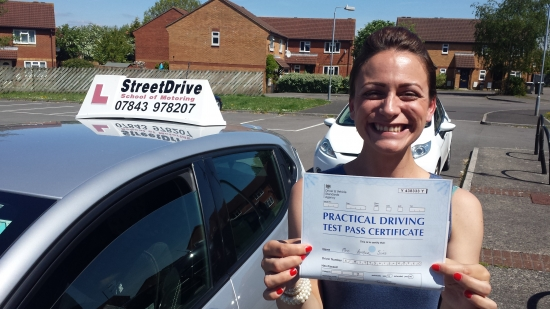 A huge thank you to Roger from StreetDrive for getting me through my driving test 1st time <br /> <br /> <br /> <br /> An exceptional instructor and the patience of a saint top guy - Passed Monday 16th May 2016