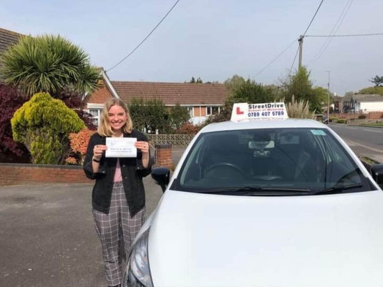 Had the pleasure of being taught by the lovely 'Louise', who helped me pass first time! I did a semi intensive course and found it a very valuable and effective way of learning to drive, especially as someone with no prior experience driving a car. <br /> <br /> Lessons with 'Louise' were always enjoyable as she has a very calm and reassuring nature. Louise always broke things down in a comprehensive wa