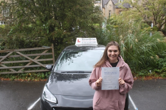 """""""Phil"""" was the best instructor I could have had. He was so patient and reassuring. He was calm in all lessons and just made me feel more confident about my driving ability.<br /> <br /> I could not be more thankful to him! <br /> <br /> Isabella Scanio - Passed 9 September 2021."""