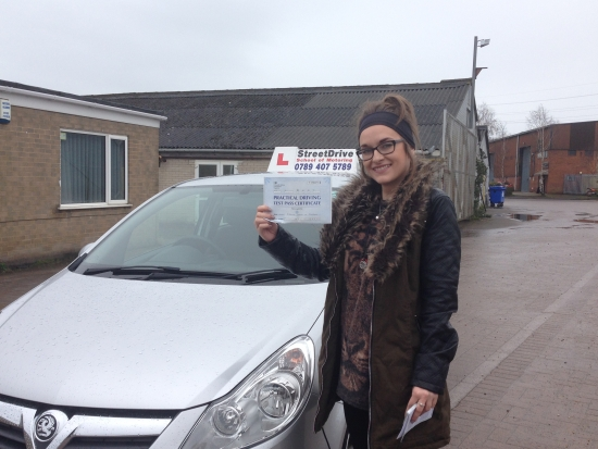 Big thank you to Louise She has been absolutely fantastic<br /> <br /> <br /> <br /> Sheacute;s had the patience of a saint with me and shown her support with my driving even when I didnacute;t believe in myself Highly recommended : Passed Wednesday 6th April 2016