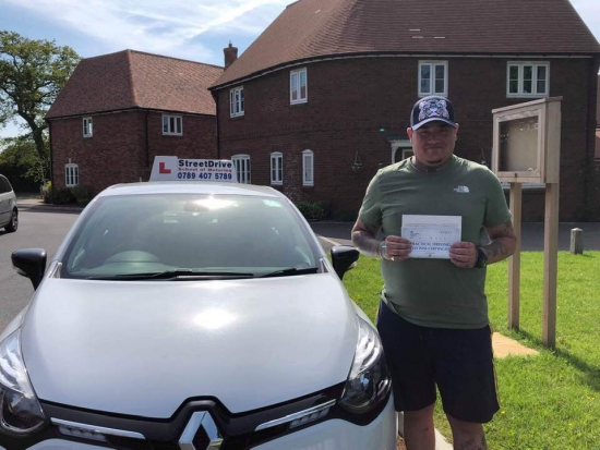 """Beep, beep, congratulations """"Ben Bissington"""" who passed """"first attempt"""", at Poole DTC, just the """"TWO"""" driving faults, very well done.<br /> <br /> Fantastic result, all the best from your instructor """"Louise"""", best of luck with your driving, keep safe. Passed Wednesday 15th May 2019."""