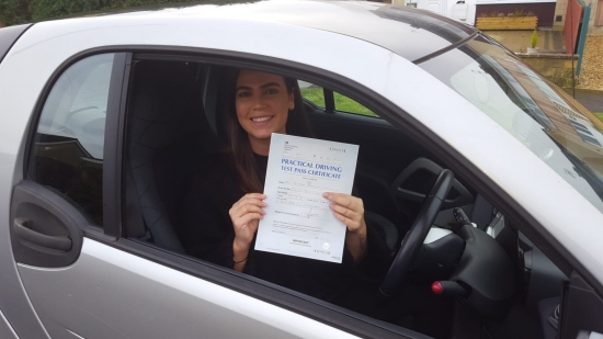 I've just finished a weeks intensive driving course with 'Bradley' and passed my test 'first time'. <br /> <br /> Last week I had never even driven a car before and I can't put those results down to anything other than Brad being an amazing, relaxing and understanding teacher. <br /> <br /> So easy to understand and made the 4 hours driving a day a real pleasure! Thanks Brad - Passed Monday 3rd February 2020.