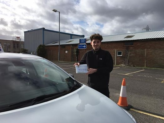 Delighted for Brodie Marquer who passed his driving test today at Poole DTC 1st Attempt and just SEVEN minor faults fantastic news<br /> <br /> <br /> <br /> Well done from your instructor Louise and ALL of us at StreetDrive School of Motoring may we wish you many years of safe driving - Passed Thursday 23rd February 2017
