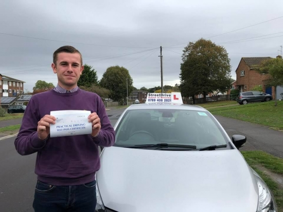 I did a 1 week driving course with 'Shaun' from StreetDrive and passed my driving test 'first time'. <br />