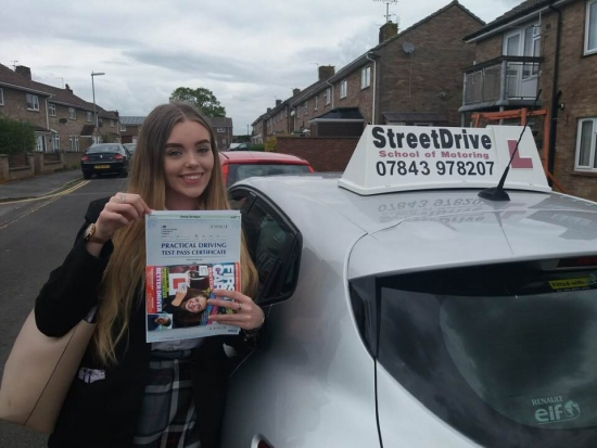 Had 'Roger' as my instructor and was absolutely fantastic! <br /> <br /> Was with a previous company before who had let me down so to come to StreetDrive and get an outstanding instructor was great. <br /> <br /> Thank you very much, very highly recommended - Chelsea Charman - Passed Tuesday 7th May 2019