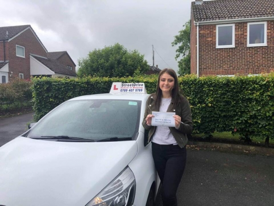 """Beep,beep, congratulations to """"Chloe Ball"""" who passed her driving test today, at Poole DTC, """"1st attempt"""" and just the """"TWO"""" driving faults, very well done.<br /> <br /> Fantastic result, congratulations from your instructor """"Louise"""", take care and all the best with your driving, keep safe 🚘 🚙 🚘 - Passed Thursday 13th June 2019."""