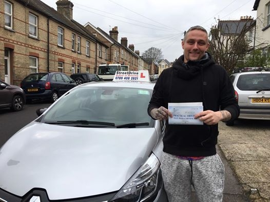 Great news for Craig Bartlett who passed his driving test today at Poole DTC only FIVE driving faults very well done<br />