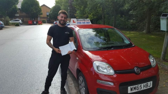 Congratulations to Daniel Bowen who passed his driving test at Chippenham DTC just TWO driving faults fantastic news<br />