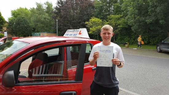 Congratulations to Daniel Wright who passed his driving test 1st Attempt today at Chippenham DTC very well done we are delighted for you<br />