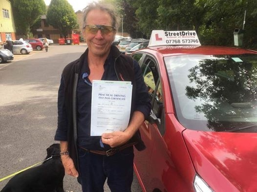 Congratulations to 'David Pupkini' who passed his driving test today at Chippenham DTC, and '1st attempt', fantastic news.<br />