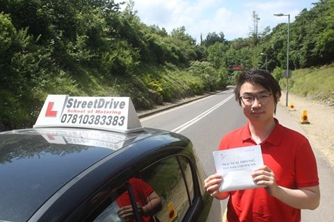 Well done to Donald Chan who passed his driving test today 1st attempt with only TWOdriving faults <br /> <br /> <br /> <br /> Well done from your instructor Philip and everyone at StreetDrive School of Motoring - Passed Thursday 15th June 2017