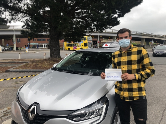 Congratulations Joe on passing your driving test today at Poole DTC, just the 2 df's so very well done.  <br /> <br /> Keep safe, enjoy your freedom! 👋 🎊 🎉<br /> <br /> Passed Friday 11th June 2021.