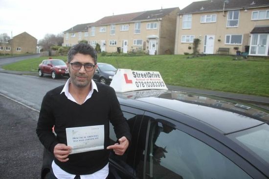 I have passed my driving test, extremely happy for that also glad I've chosen to go and book my driving lessons with one of Bath&acute;s top driving instructor.<br />